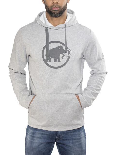 Mammut Logo mid layer Uomo grigio